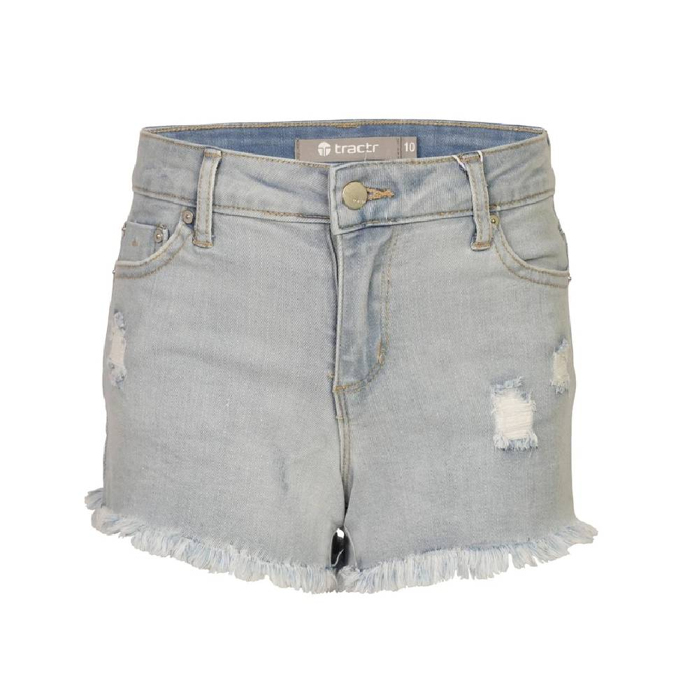 Tractr Girl's Brittany Shorts KIDS - Girls - Clothing - Shorts TRACTR JEANS Teskeys