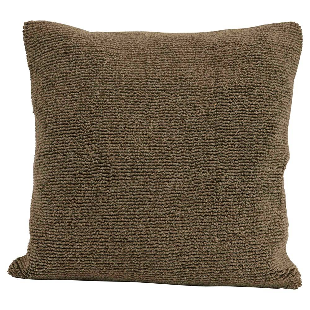 "18"" Square Terry Cloth Pillow HOME & GIFTS - Home Decor - Decorative Pillows Creative Co-Op Teskeys"