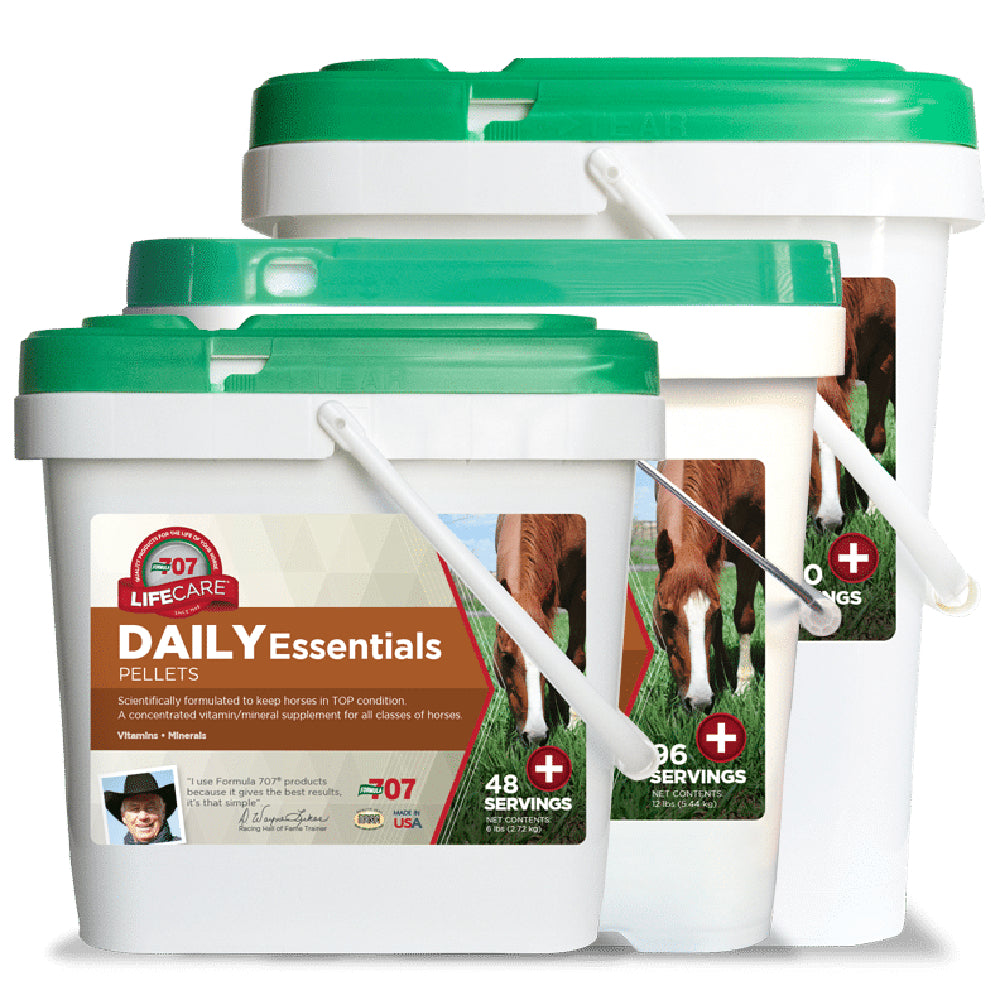 Formula 707 Daily Essentials FARM & RANCH - Animal Care - Equine - Supplements - Vitamins & Minerals Formula 707 Teskeys