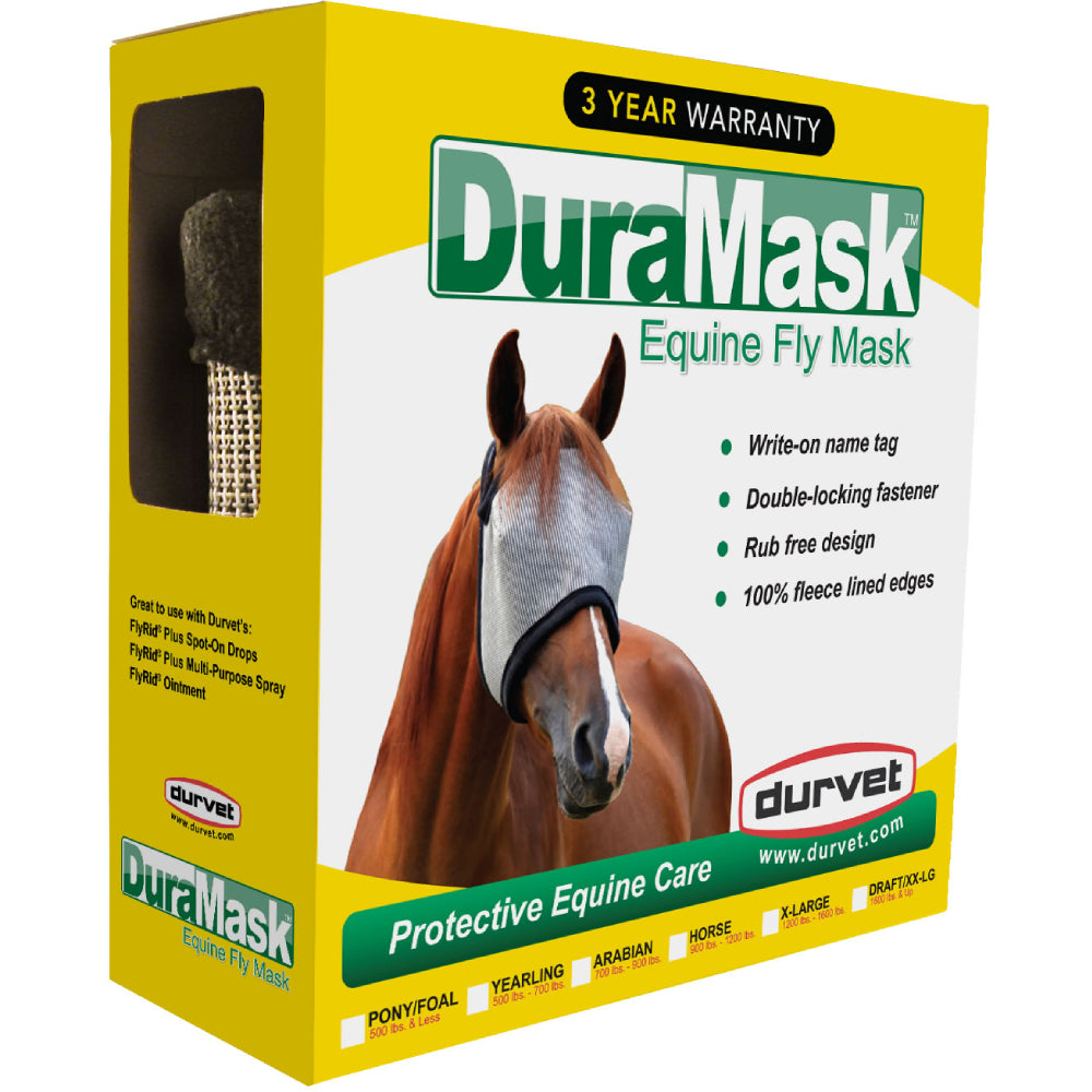 Durvet Fly Mask FARM & RANCH - Animal Care - Equine - Fly & Insect Control - Fly Masks & Sheets Durvet Teskeys