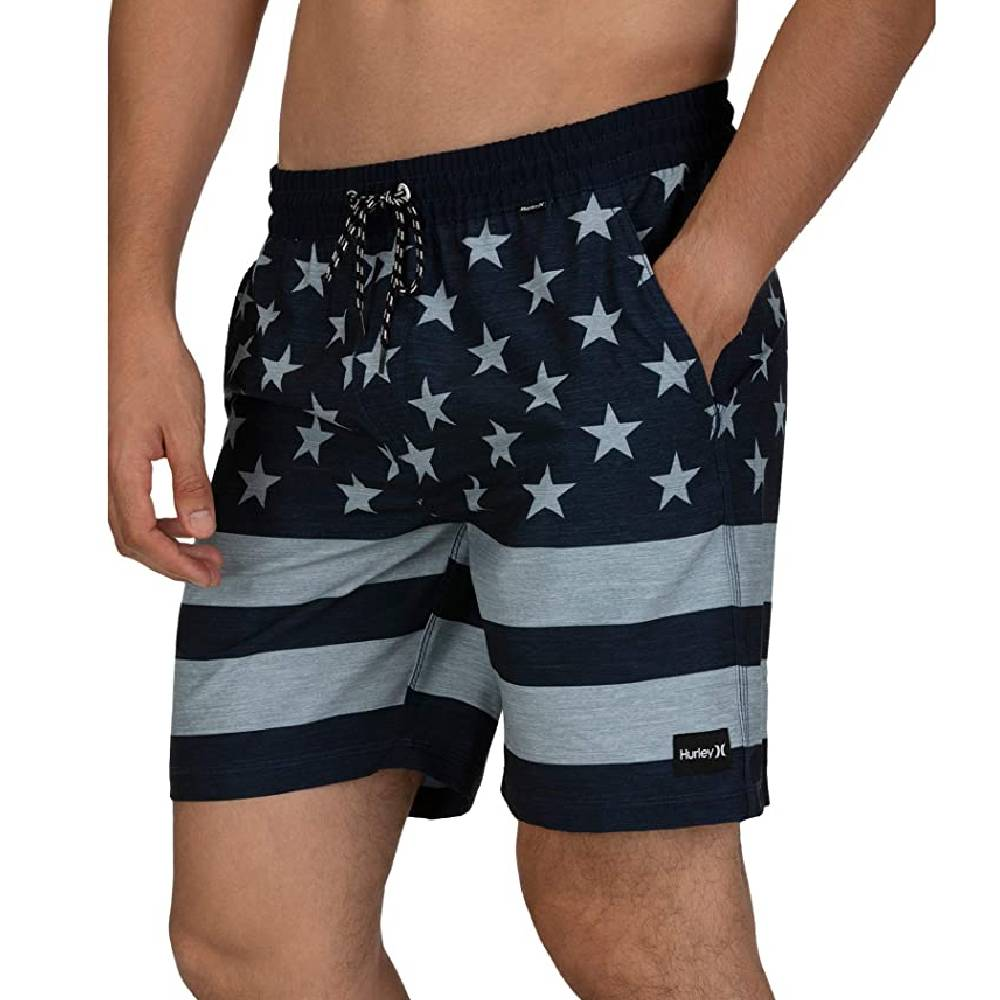 "Hurley Patriot Volley 18"" Board Short MEN - Clothing - Surf & Swimwear HURLEY Teskeys"