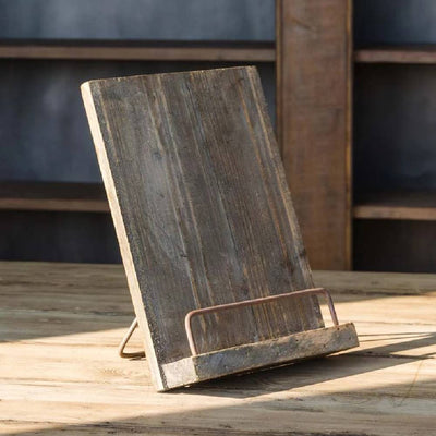 Age Wooden Cook Book Stand HOME & GIFTS - Home Decor - Decorative Accents PARK HILL COLLECTION Teskeys