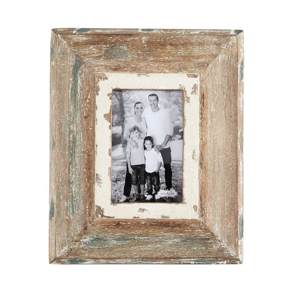 Weathered Wood 4x6 Frame HOME & GIFTS - Home Decor - Wall Decor + Mirrors Mud Pie Teskeys