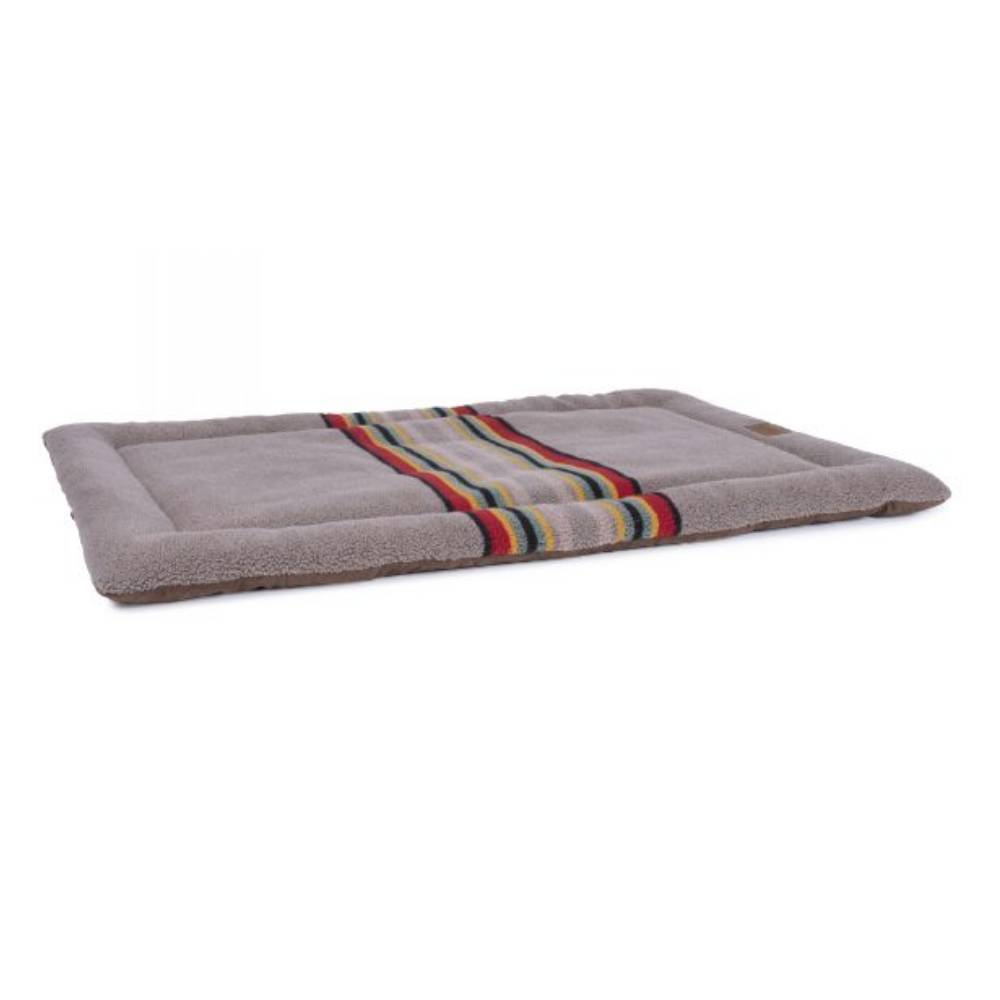Pendleton Pet Vintage Camp Mineral Umber Comfort Cushion FARM & RANCH - Animal Care - Pets - Accessories - Kennels & Beds Pendleton Teskeys