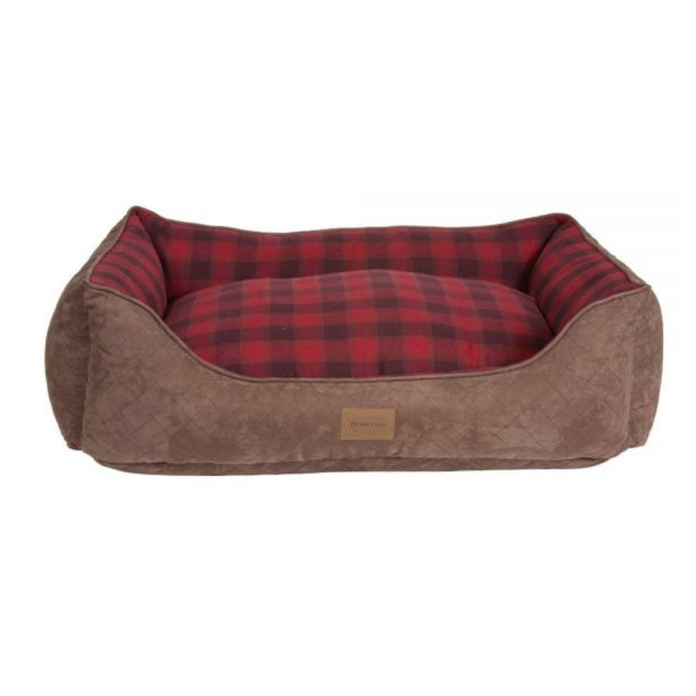 Pendleton Pet Red Ombre Plaid Kuddler FARM & RANCH - Animal Care - Pets - Accessories - Kennels & Beds PENDLETON Teskeys