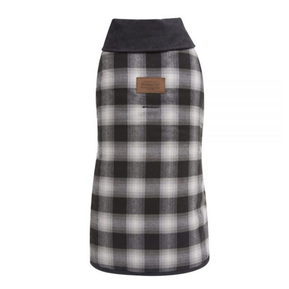 Pendleton Pet Charcoal Ombre Plaid Dog Coat FARM & RANCH - Animal Care - Pets - Accessories - Kennels & Beds PENDLETON Teskeys