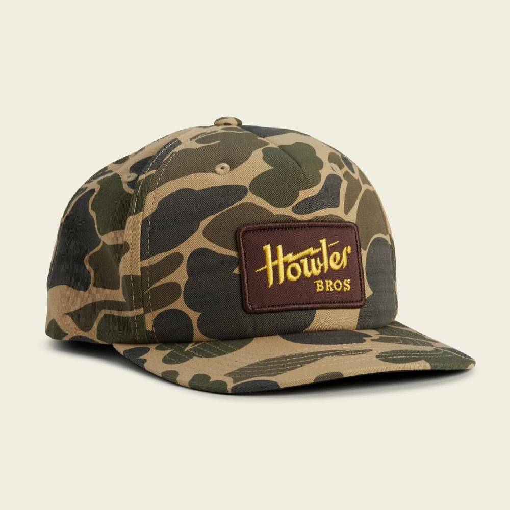 Howler Electric Snapback Cap HATS - BASEBALL CAPS HOWLER BROS Teskeys