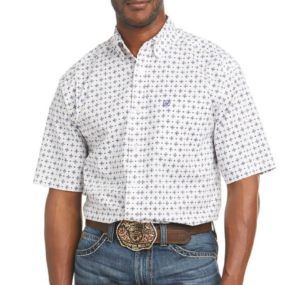 Ariat Perseus Button Down Shirt MEN - Clothing - Shirts - Short Sleeve Shirts Ariat Clothing Teskeys