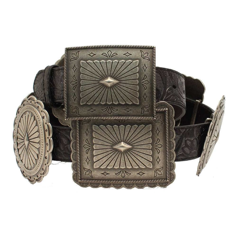 Ariat Oval and Rectangle Concho Belt