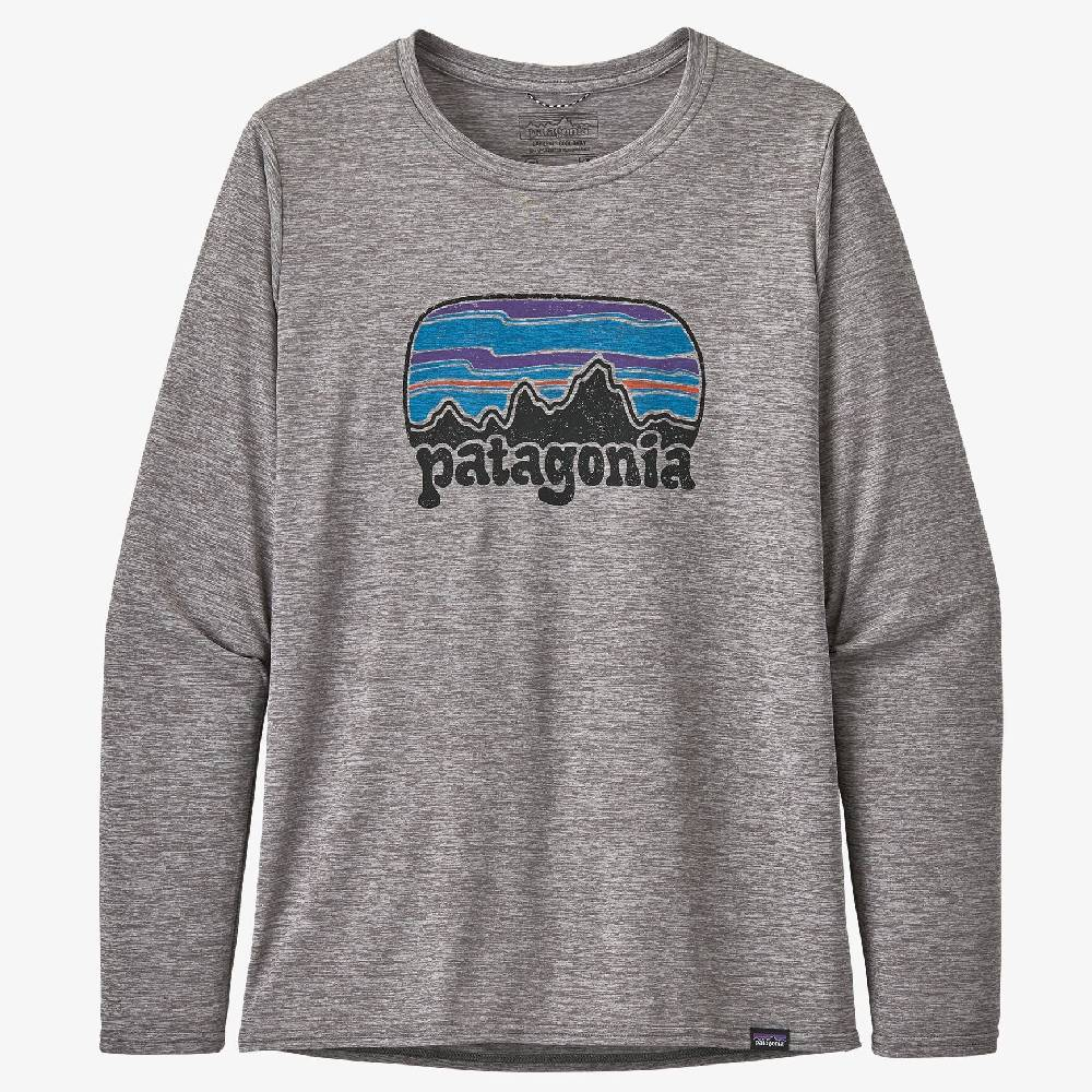 Patagonia Cap Cool Graphic Long Sleeve Tee