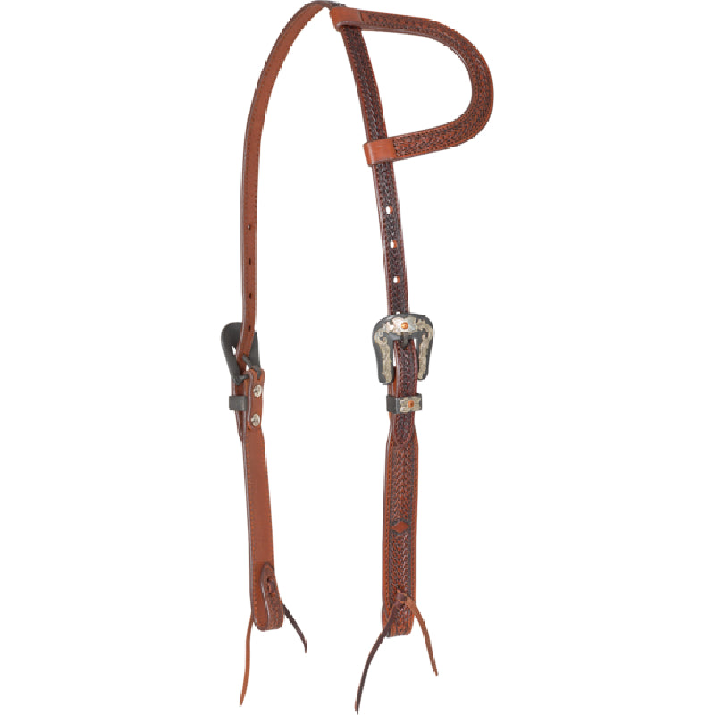 CASHEL ANTIQUE DIAMOND SLIP EAR HEADSTALL Tack - Headstalls - One Ear Cashel Teskeys