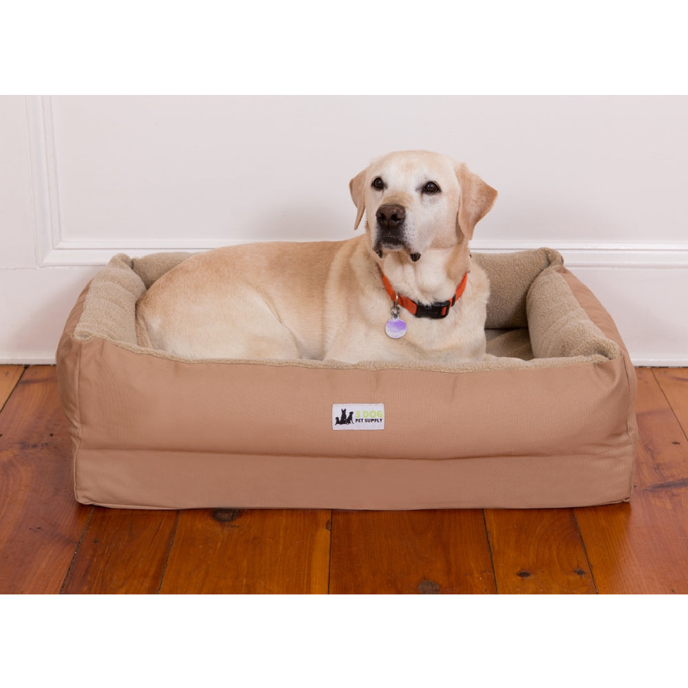 3 Dog EZ Wash Fleece Lounger Dog Bed FARM & RANCH - Animal Care - Pets - Accessories - Kennels & Beds 3 Dog Pet Supply Teskeys