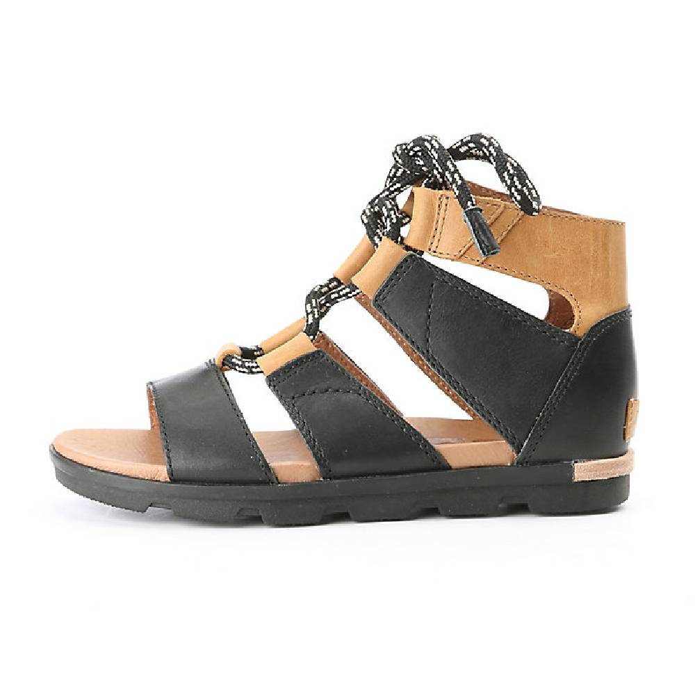 Sorel Torpeda Lace Sandal - Black - FINAL SALE WOMEN - Footwear - Sandals SOREL Teskeys