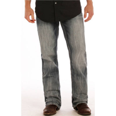 Rock & Roll Denim Double Barrel Jeans - Medium Wash MEN - Clothing - Jeans Panhandle Teskeys