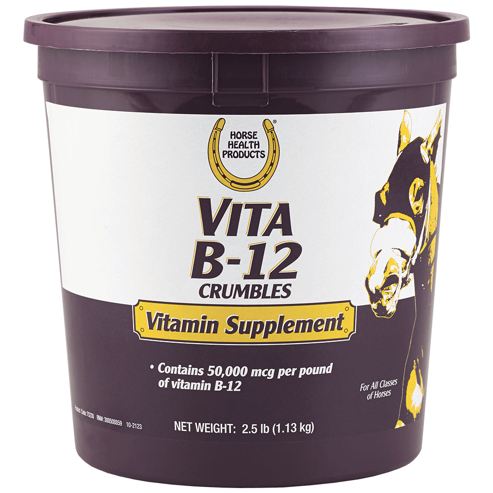 Vita B-12 Crumbles FARM & RANCH - Animal Care - Equine - Supplements - Vitamins & Minerals Horse Health Products Teskeys