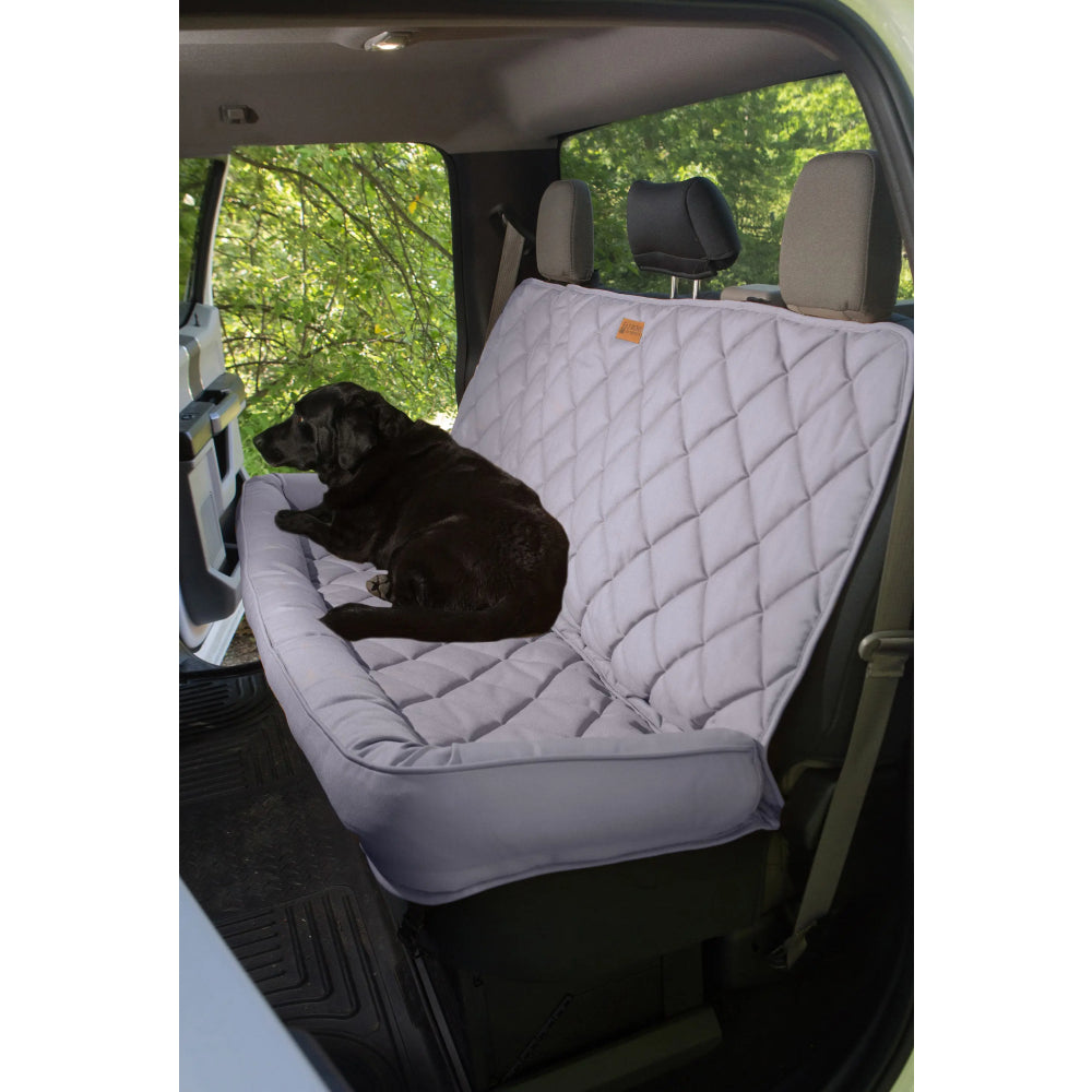 3 Dogs Crew Cab Truck sized Back Seat Protector with Headrest FARM & RANCH - Animal Care - Pets - Accessories - Kennels & Beds 3 Dog Pet Supply Teskeys
