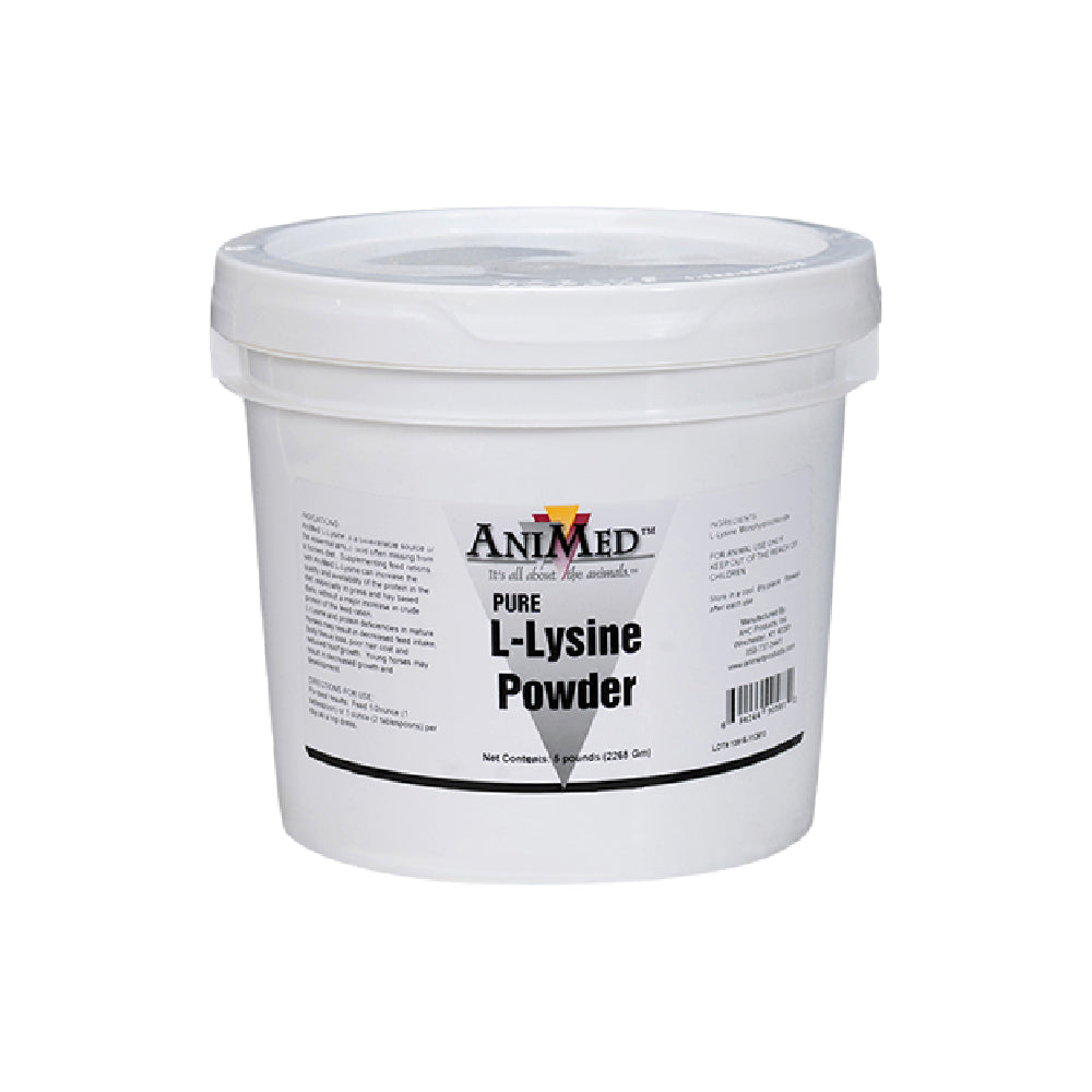 Animed L-Lysine Powder FARM & RANCH - Animal Care - Equine - Supplements - Vitamins & Minerals Animed Teskeys