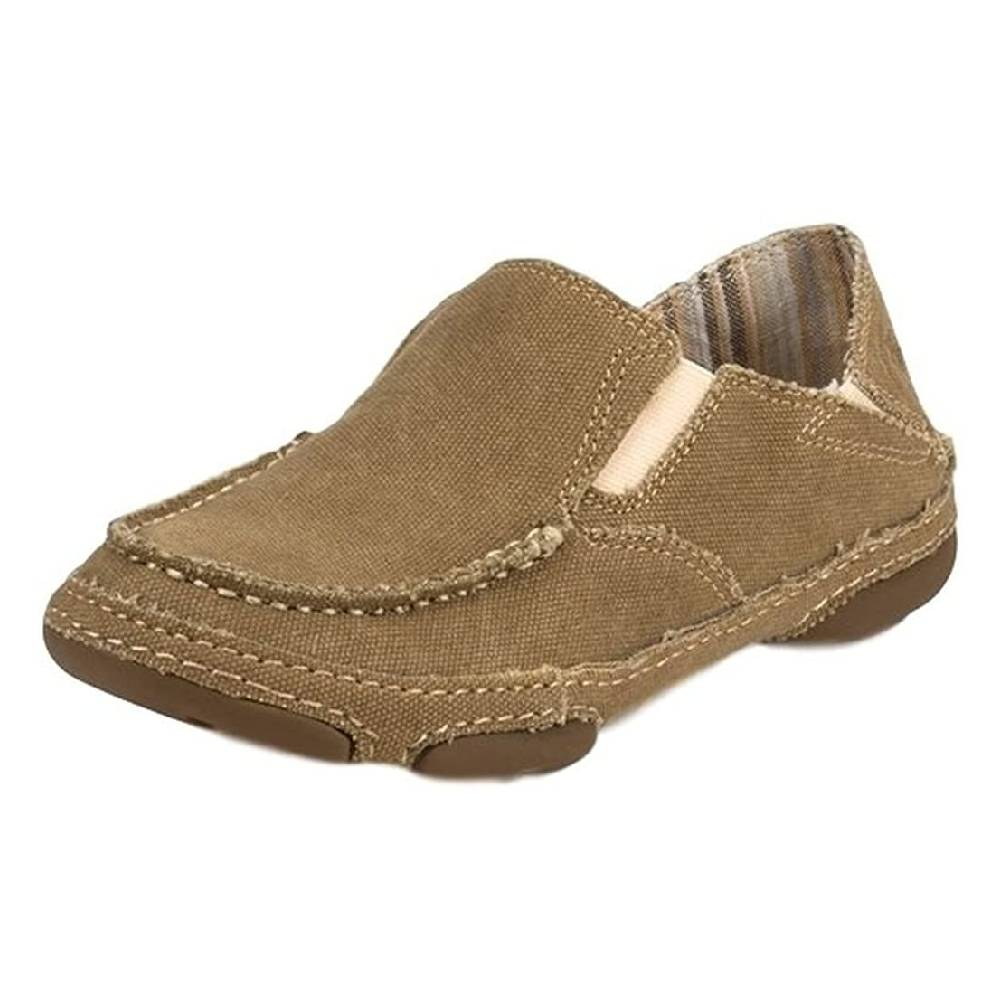 Tony Lama 3R Canvas Slip On Shoe WOMEN - Footwear - Casuals TONY LAMA BOOTS Teskeys