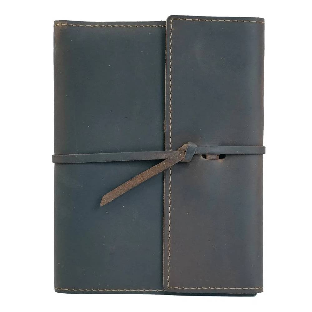Rustico Large Refillable Leather Writers Log Home & Gifts - Gifts RUSTICO Teskeys