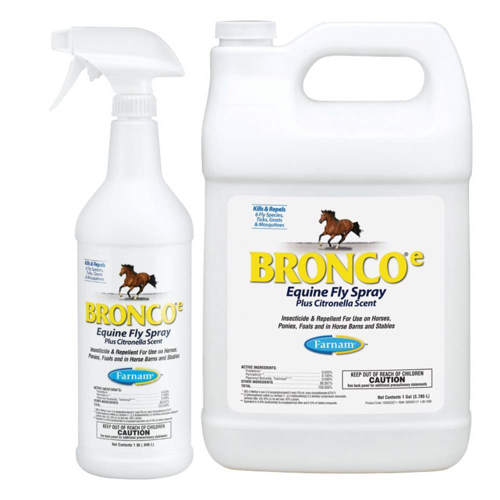 Farnam Bronco Equine Fly Spray FARM & RANCH - Animal Care - Equine - Fly & Insect Control - Fly spray Farnam Teskeys
