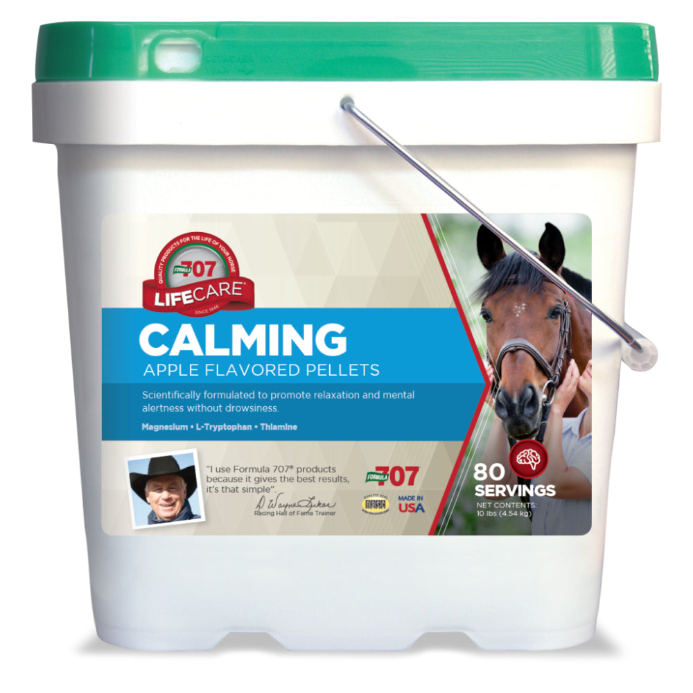 Formula 707 Calming Essentials FARM & RANCH - Animal Care - Equine - Supplements - Calming Formula 707 Teskeys