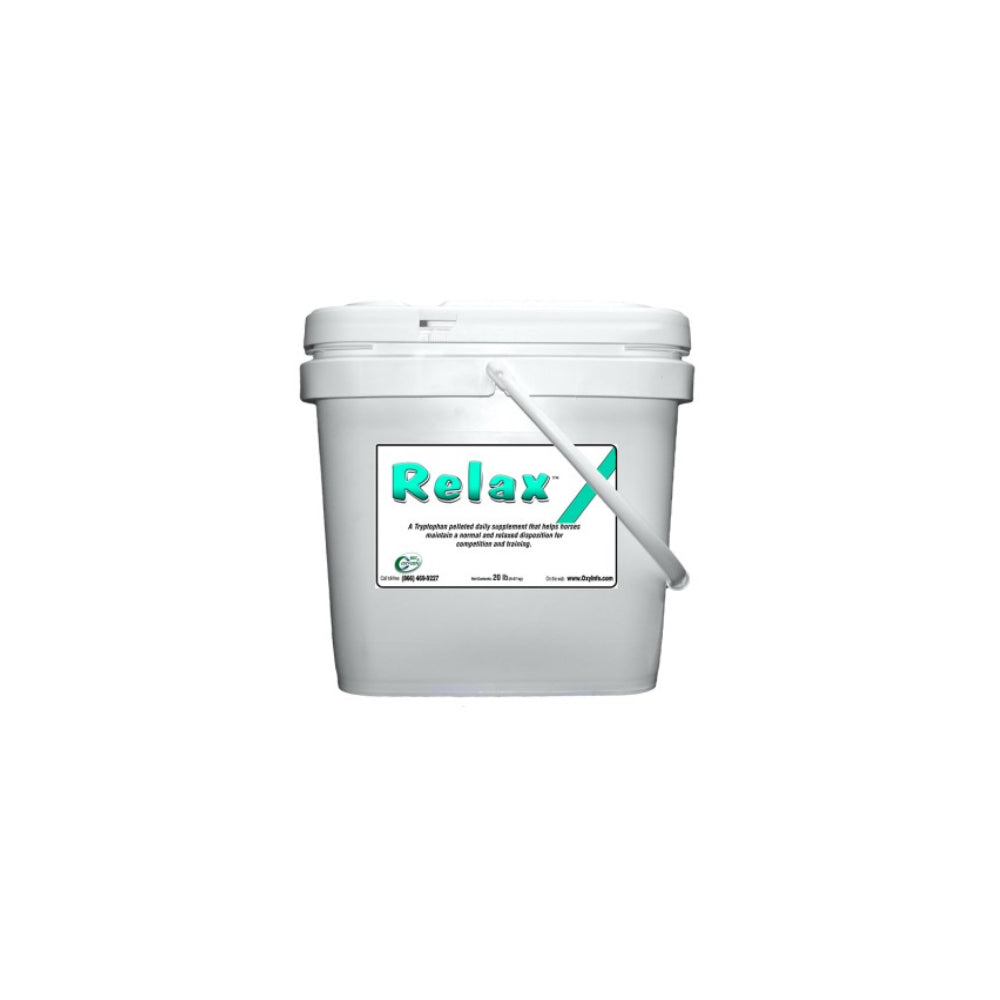 Pozzi's Relax Pellets FARM & RANCH - Animal Care - Equine - Supplements - Calming Oxy-Gen Teskeys