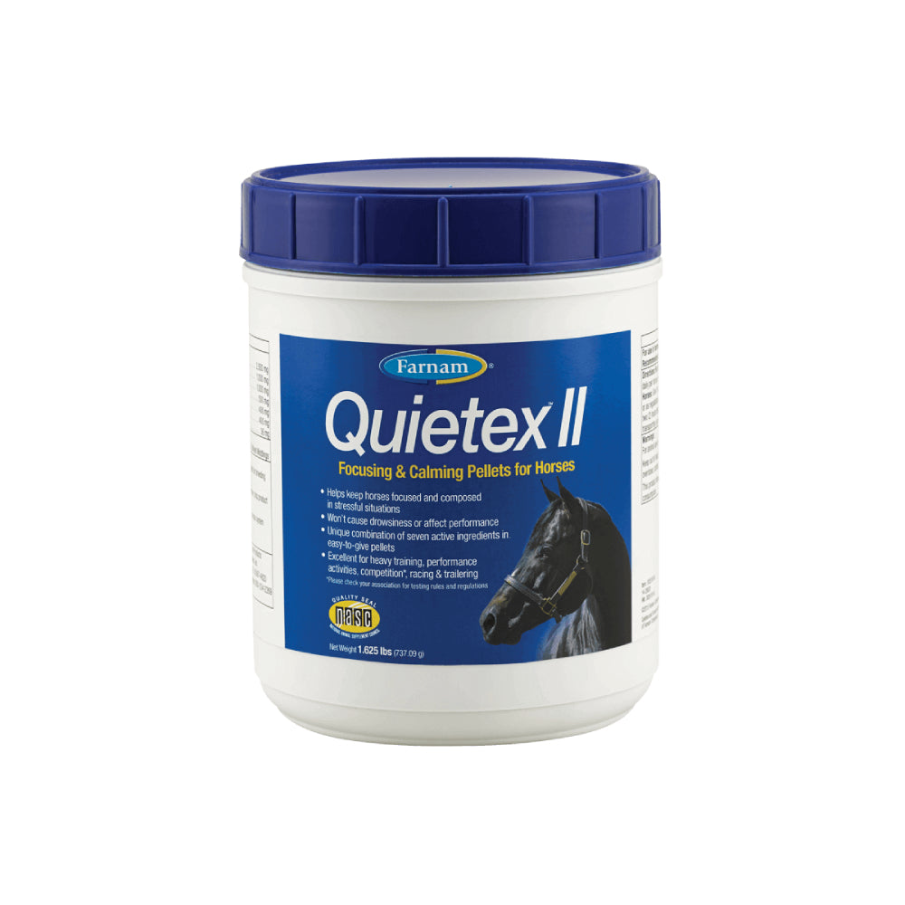 Quietex II Pellets FARM & RANCH - Animal Care - Equine - Supplements - Calming Farnam Teskeys