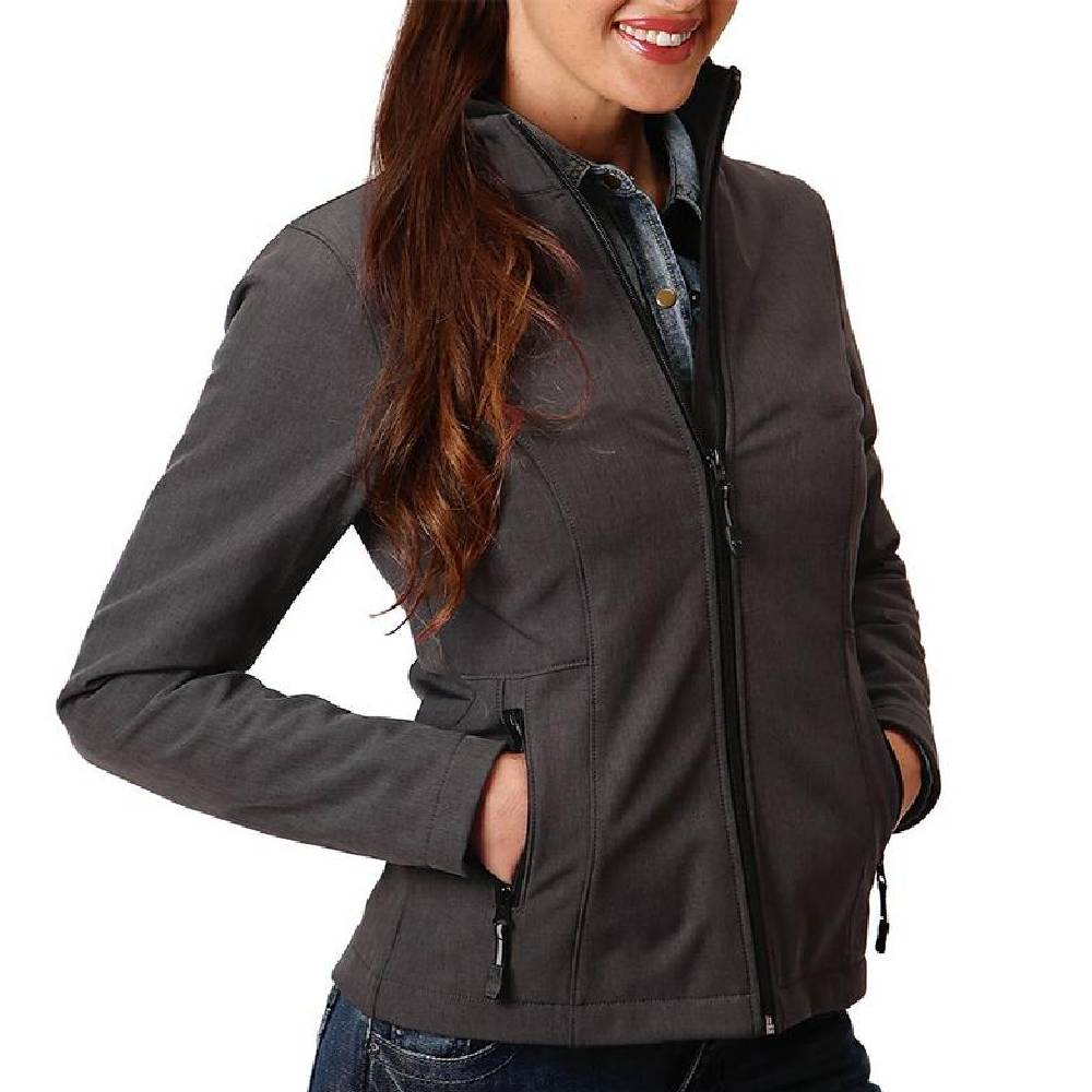 Roper Women's Softshell Fleece Jacket WOMEN - Clothing - Outerwear - Jackets ROPER APPAREL & FOOTWEAR Teskeys