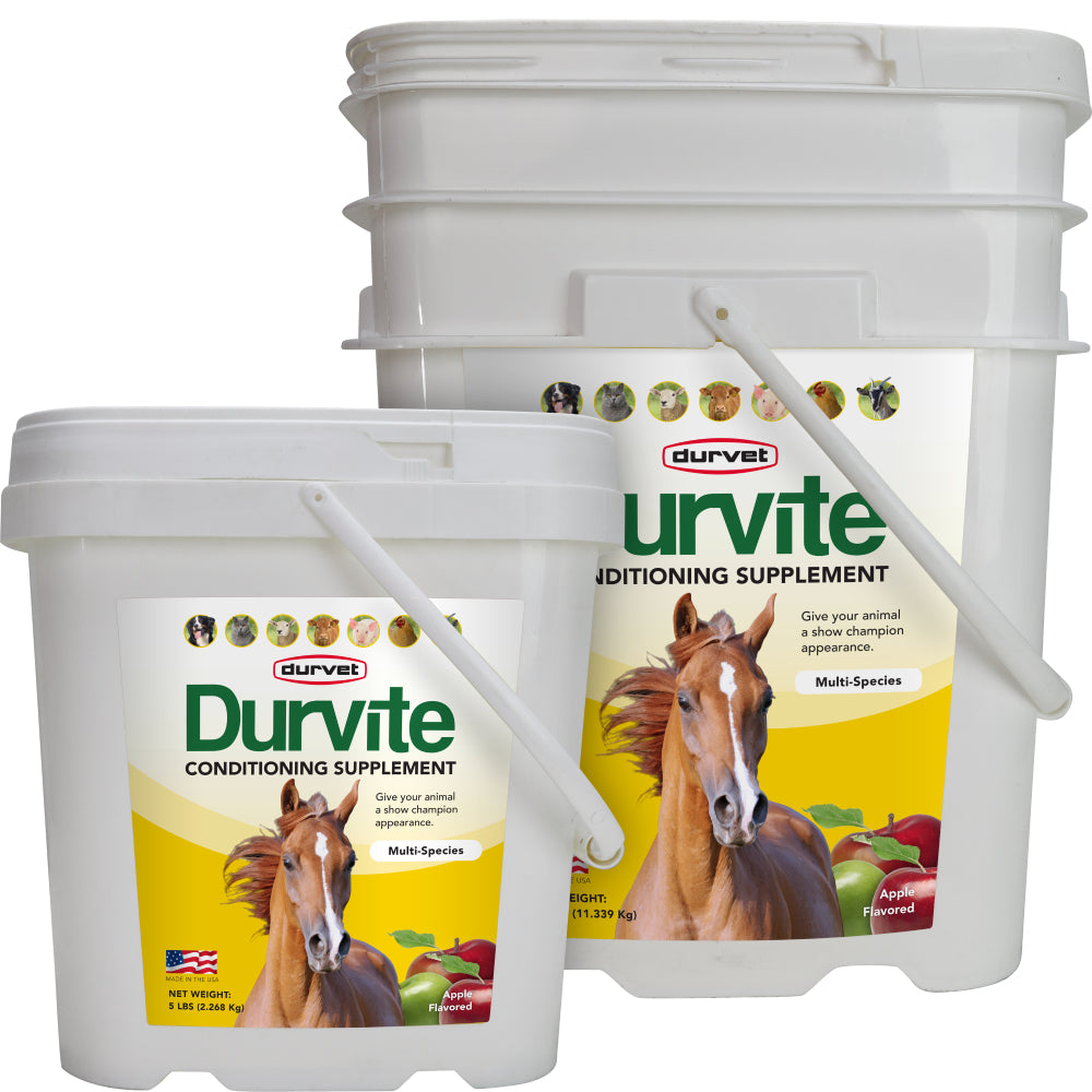 Durvite FARM & RANCH - Animal Care - Equine - Supplements - Vitamins & Minerals Duravet Teskeys