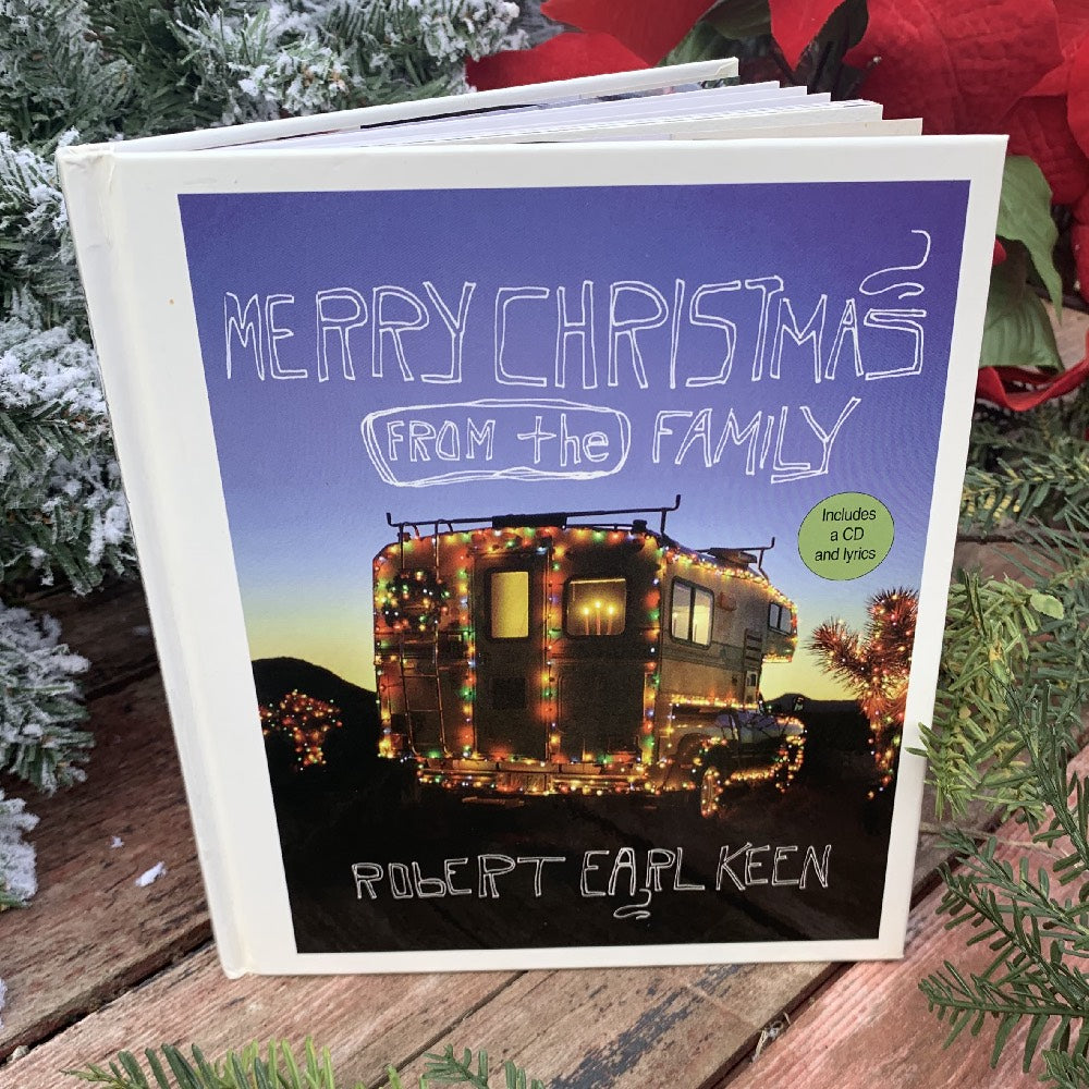 Merry Christmas From the Family by Robert Earl Keen HOME & GIFTS - Books UNIVERSITY OF TEXAS PRESS Teskeys