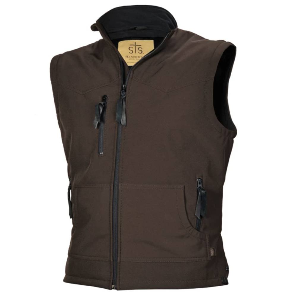 STS Ranchwear Mens Barrier Vest - Brown MEN - Clothing - Outerwear - Vests STS Ranchwear Teskeys