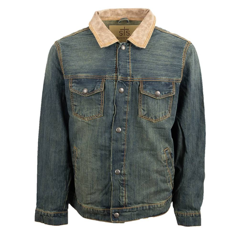 STS Ranchwear Mens Denim Jumper Jacket MEN - Clothing - Outerwear - Jackets STS Ranchwear Teskeys