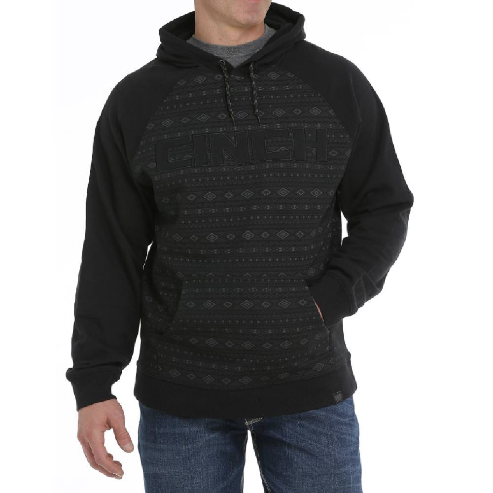 Cinch Aztec Print Hoodie MEN - Clothing - Outerwear - Jackets CINCH Teskeys