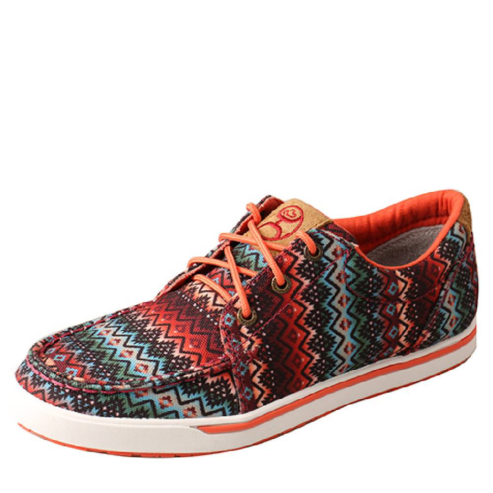 Twisted X Ladies Aztec Coral Loper WOMEN - Footwear - Casuals TWISTED X Teskeys