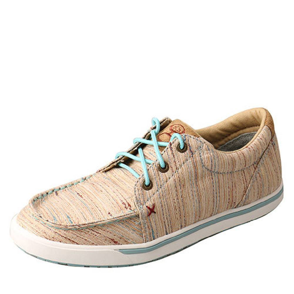 Twisted X Ladies Tan/Multi Hooey Loper WOMEN - Footwear - Casuals TWISTED X Teskeys