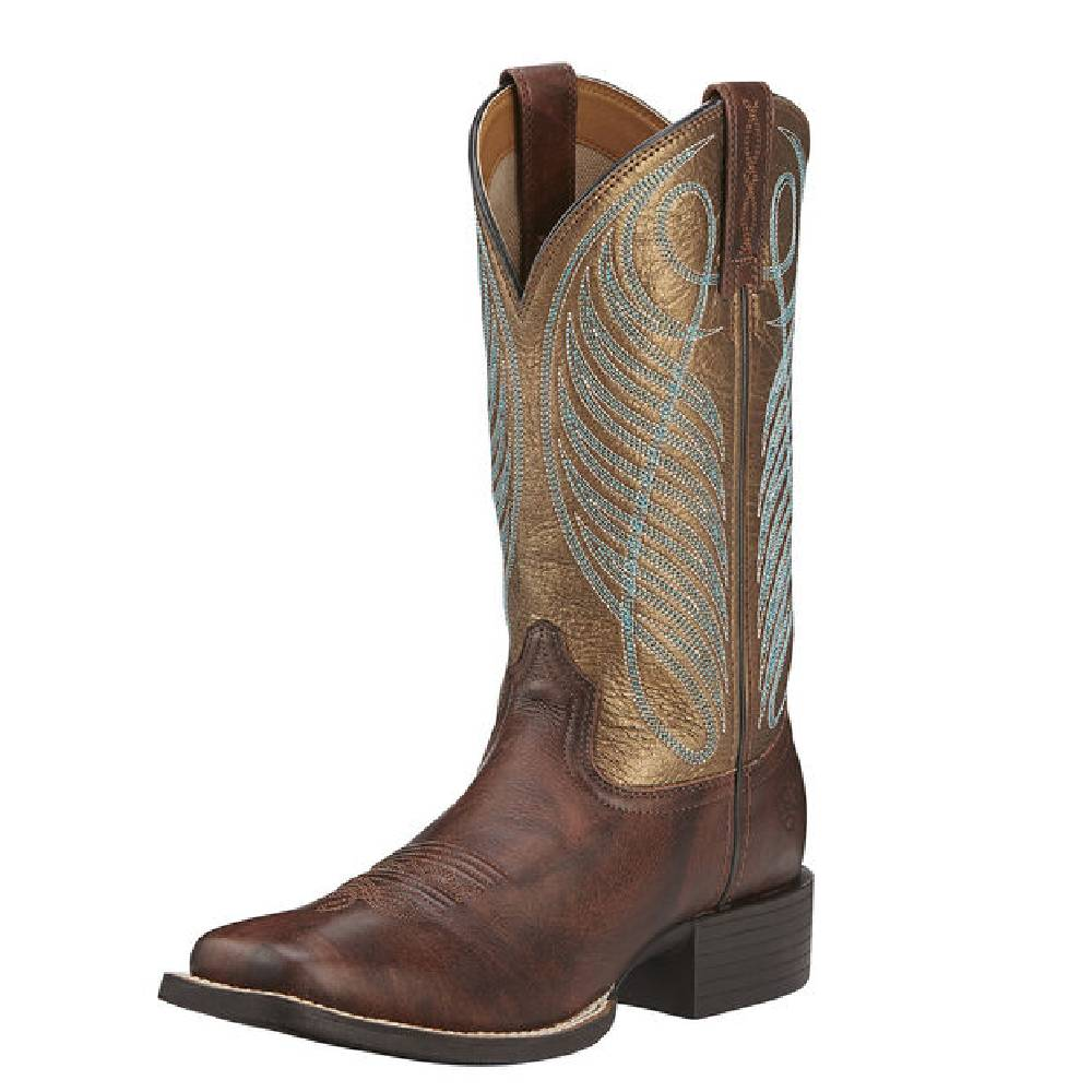 Ariat Round Up Western Boot WOMEN - Footwear - Boots - Western Boots Ariat Footwear Teskeys