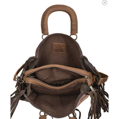 STS Ranchwear Buffalo Girl Satchel WOMEN - Accessories - Handbags - Shoulder Bags STS Ranchwear Teskeys