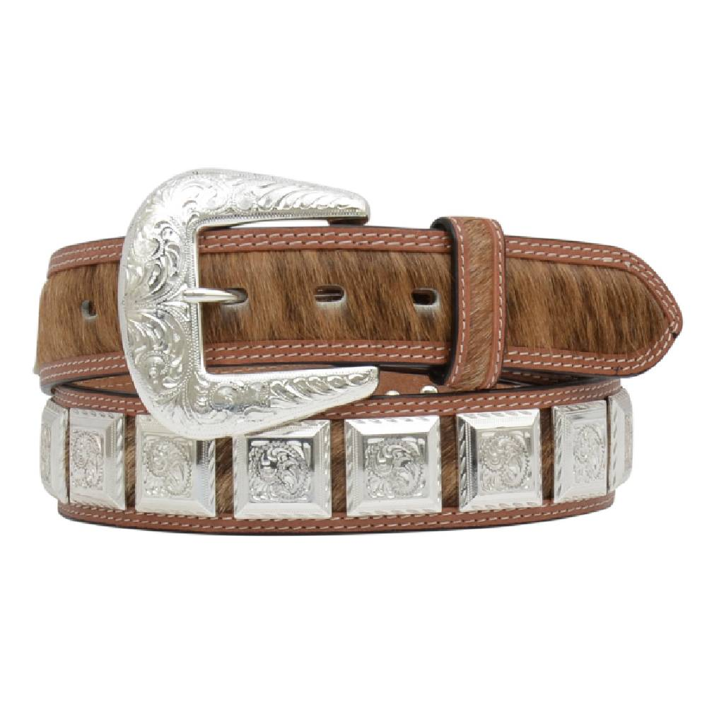Square Concho Belt MEN - Accessories - Belts & Suspenders M&F WESTERN PRODUCTS Teskeys