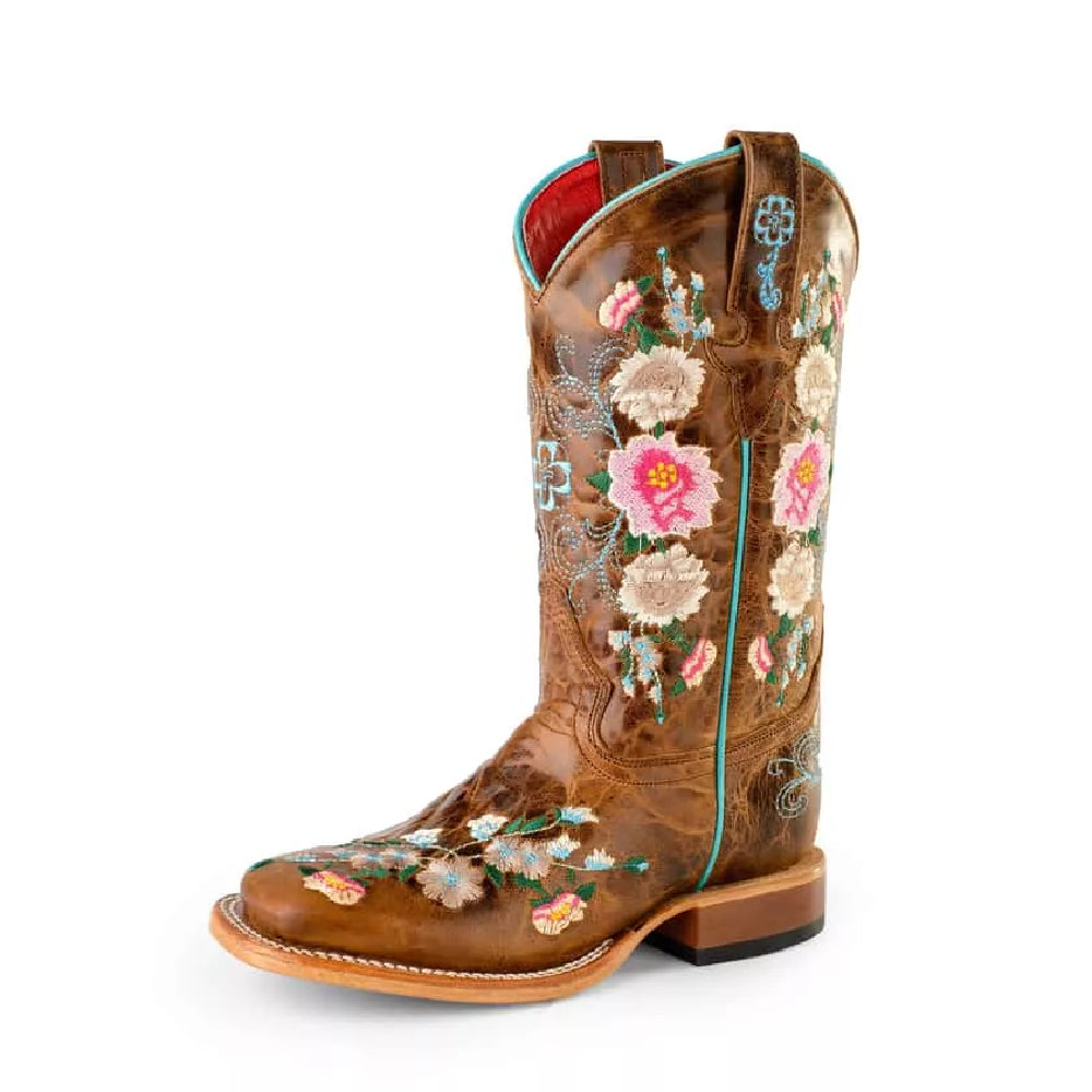 Kid's Macie Bean Honey Bunch Cowgirl Boots KIDS - Girls - Footwear - Boots ANDERSON BEAN BOOT CO. Teskeys