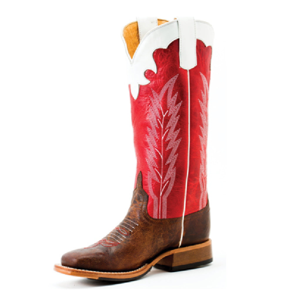 Anderson Bean Kids - Saddle Mad Dog / Rodeo Red Boot KIDS - Boys - Footwear - Boots ANDERSON BEAN BOOT CO. Teskeys