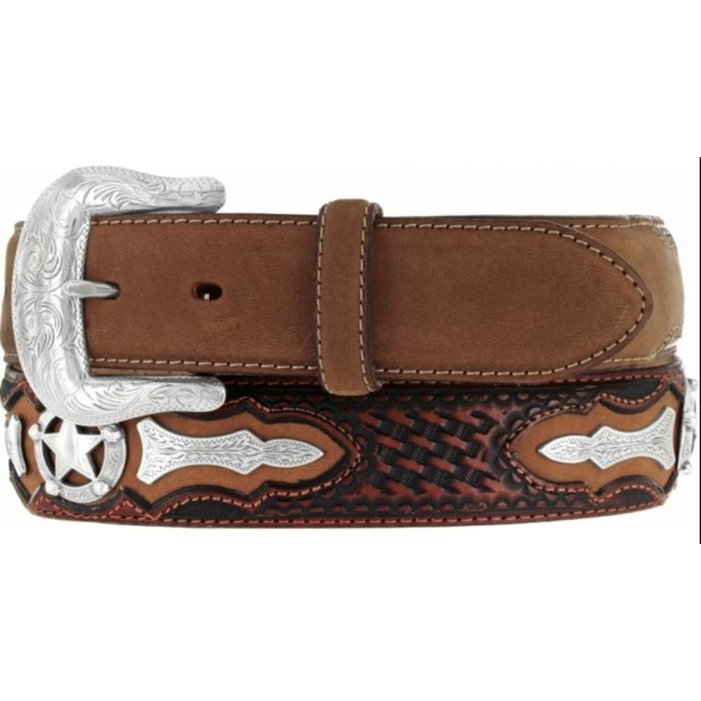 Odessa Star Concho Belt MEN - Accessories - Belts & Suspenders Teskeys Teskeys