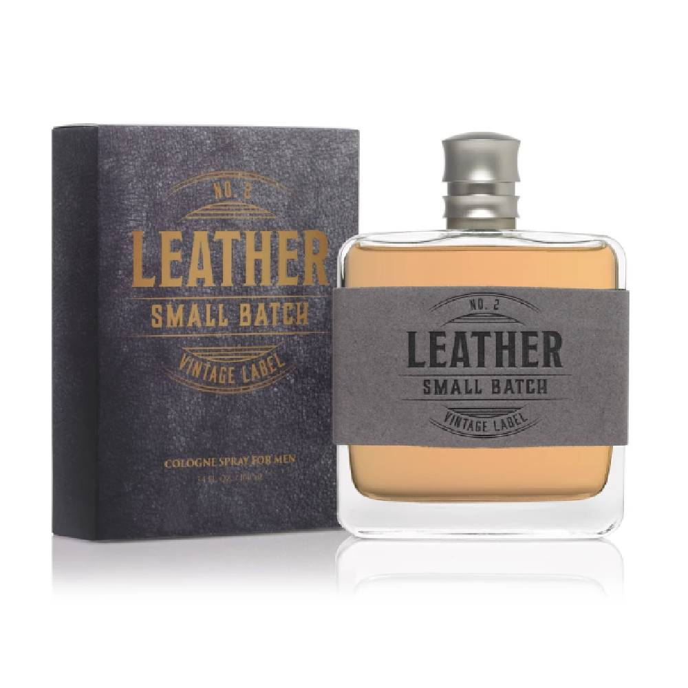Men's Leather No. 2 Small Batch Cologne 3.4 oz MEN - Accessories - Grooming & Cologne TRU FRAGRANCE Teskeys