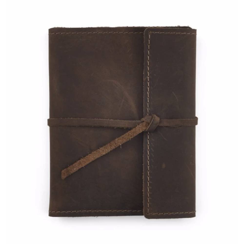 Rustico Small Refillable Leather Writers Log