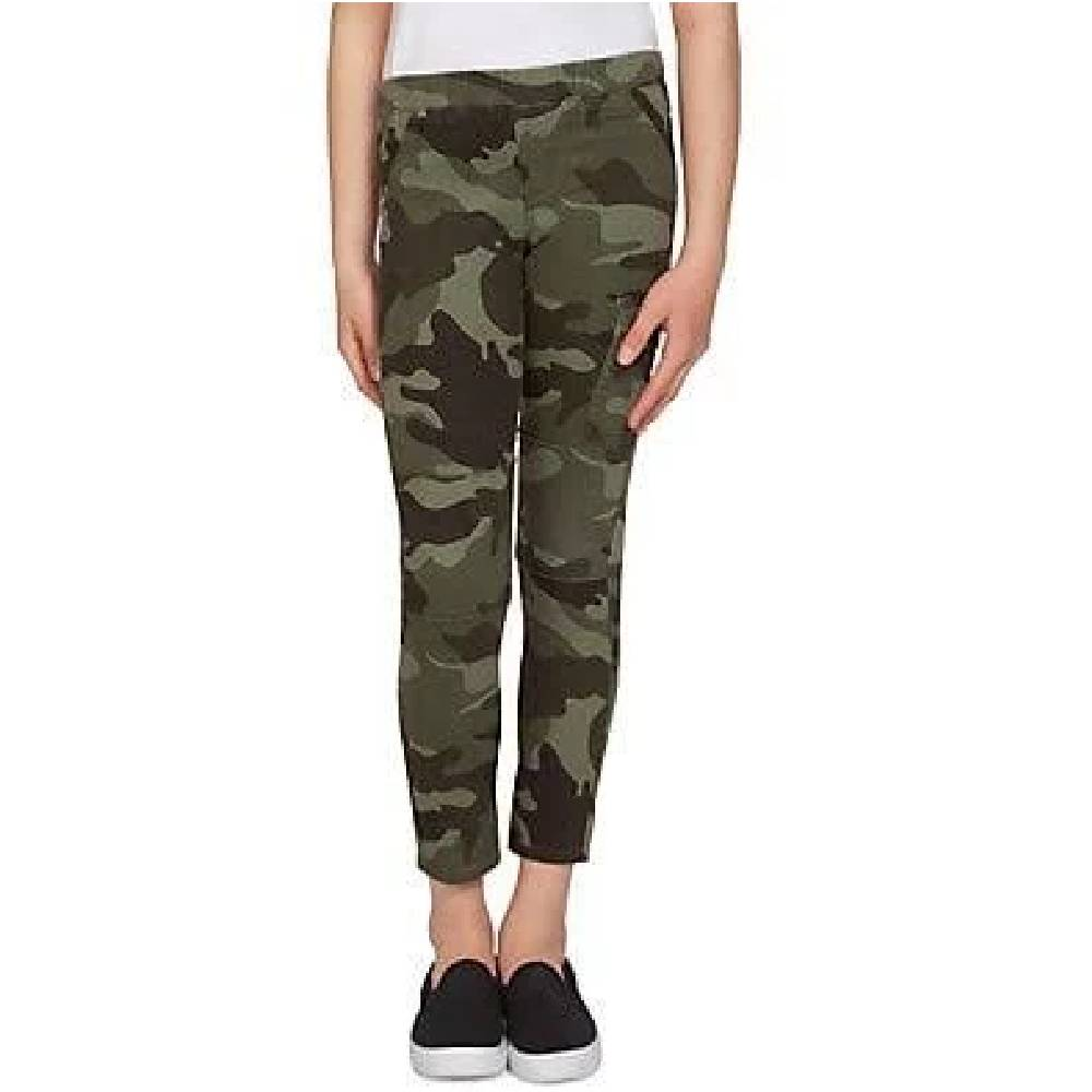 Girls Pull On Cargo Pant Camo