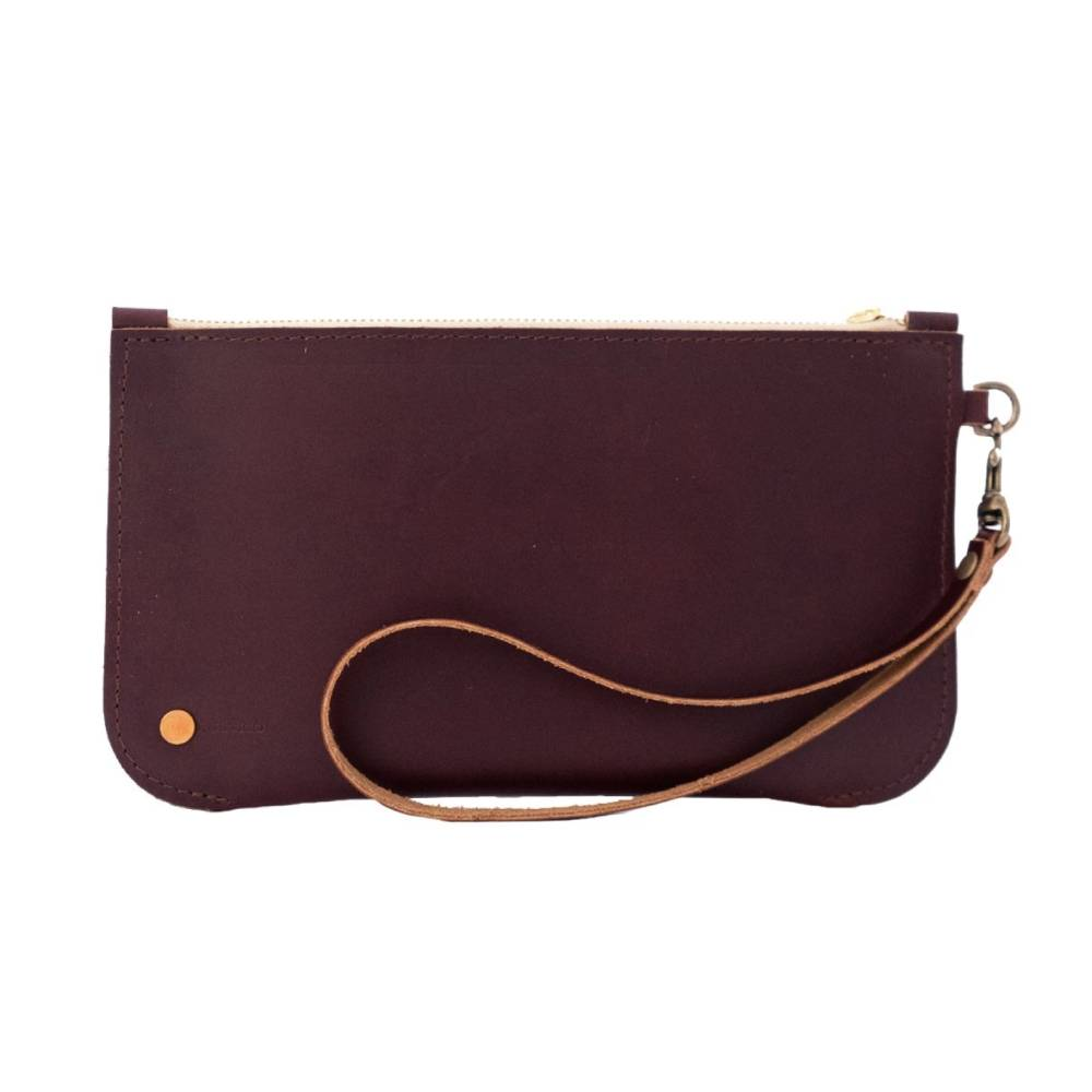 Rustico Brooklyn Leather Clutch WOMEN - Accessories - Handbags - Clutches & Pouches RUSTICO Teskeys