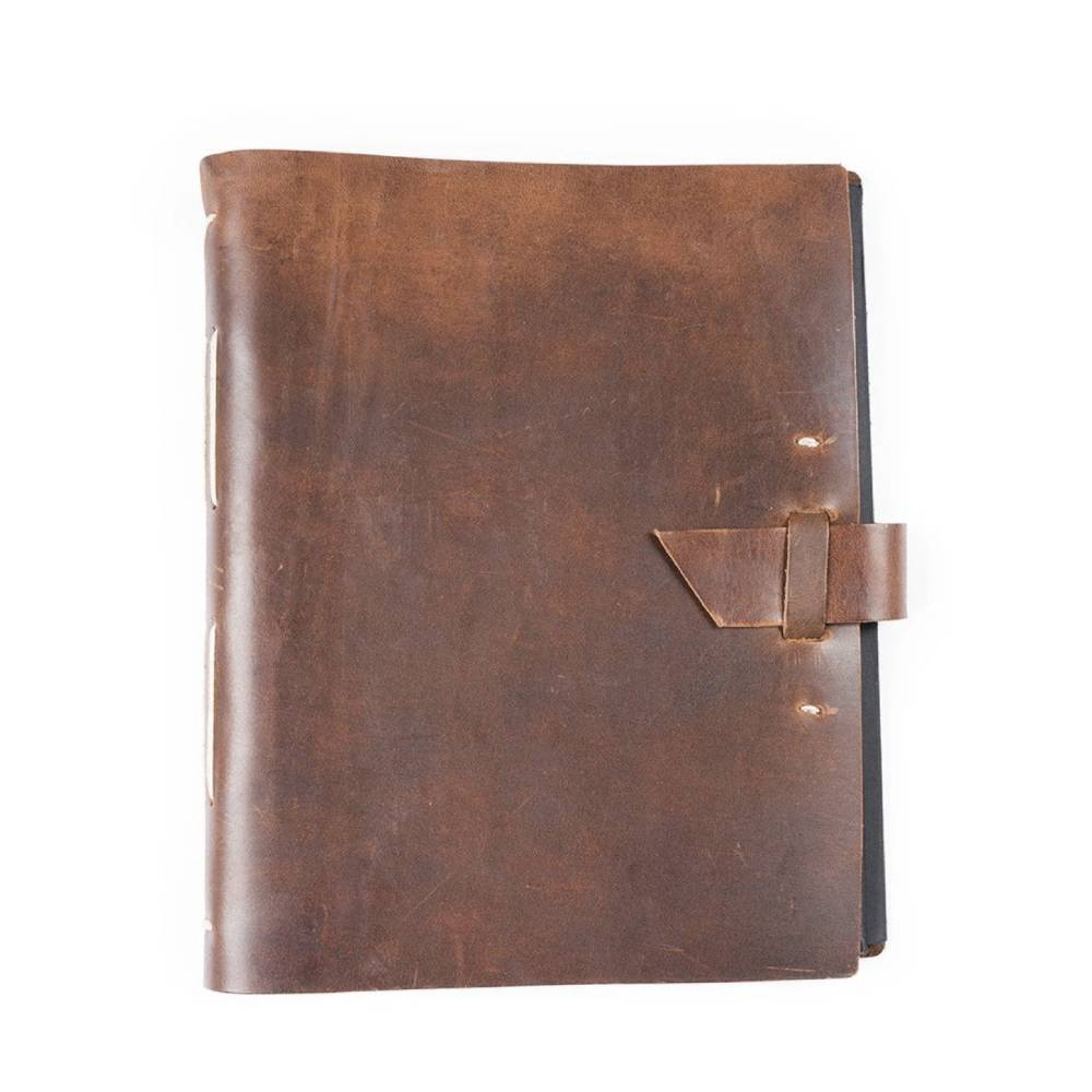 Rustico Leather Family Photo Album Home & Gifts - Home Decor - Decorative Accents RUSTICO Teskeys