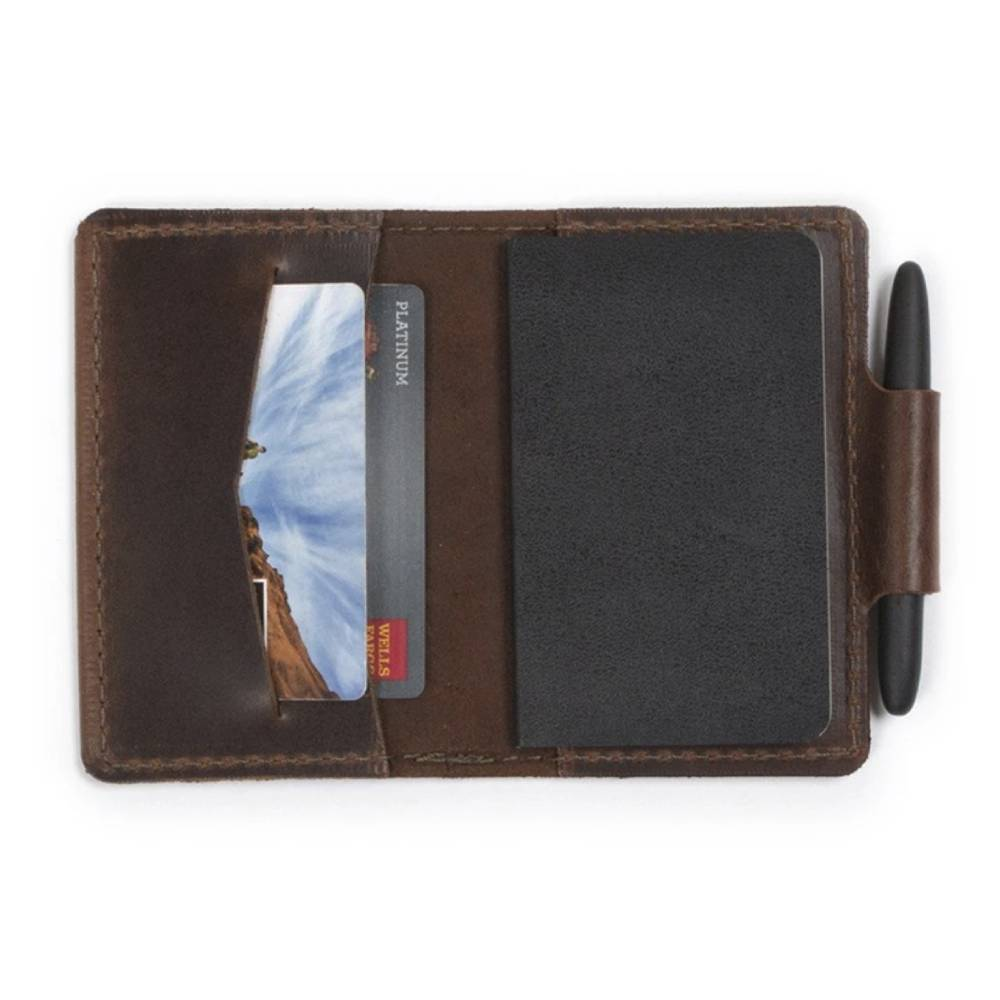 Rustico Orbiter Leather Wallet/Notebook Combo MEN - Accessories - Wallets & Money Clips RUSTICO Teskeys