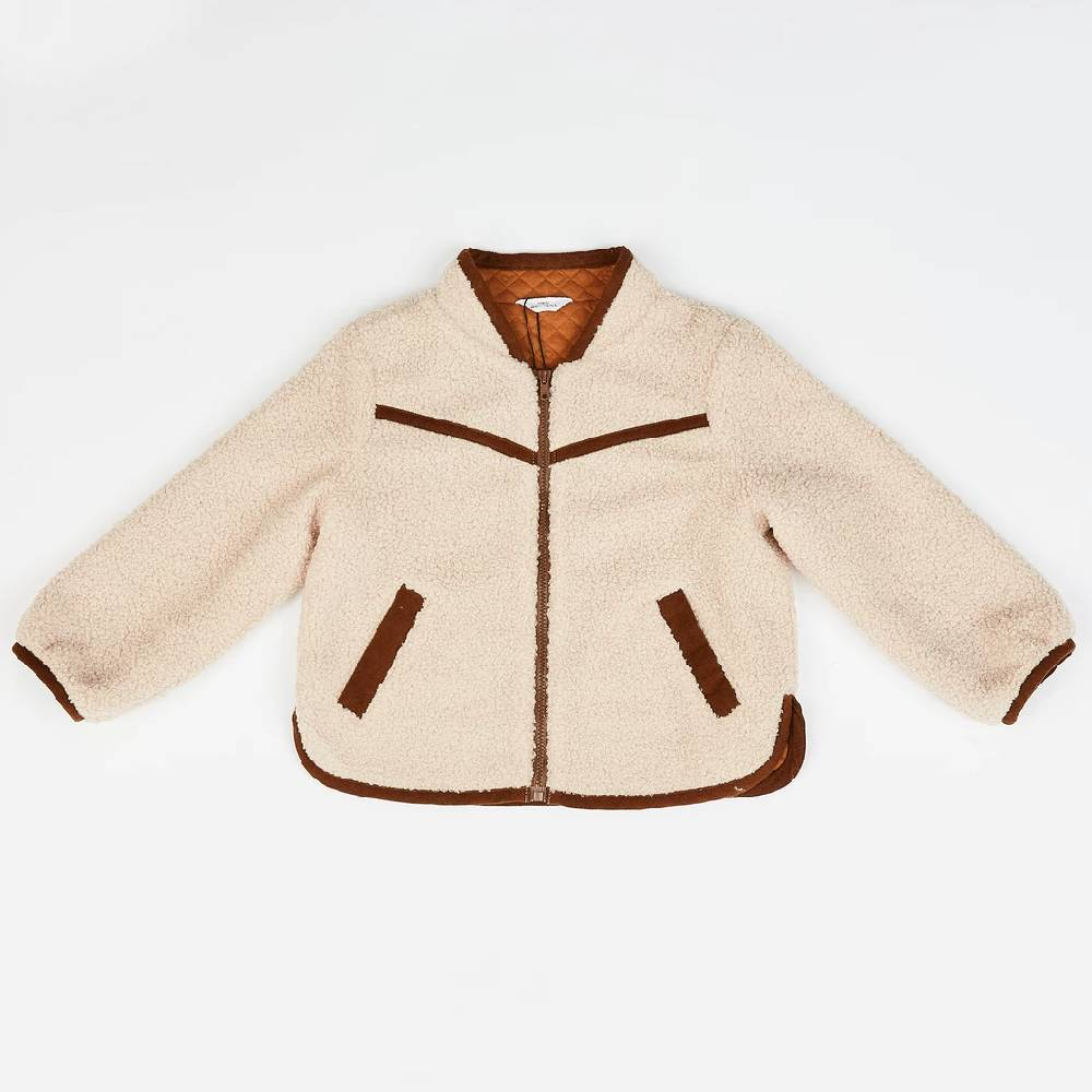 Cozy Sherpa Zip Up Jacket