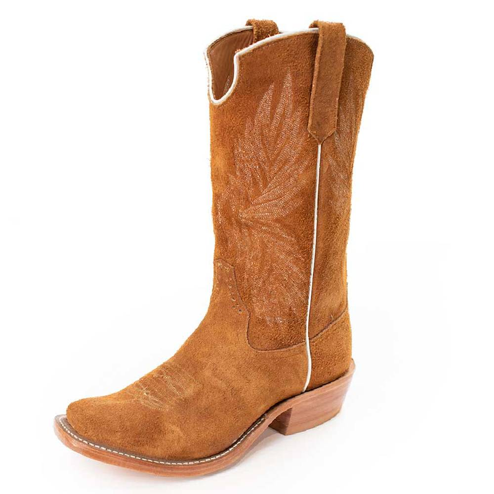 Rios of Mercedes Roughout Rust Boot MEN - Footwear - Western Boots RIOS OF MERCEDES BOOT CO. Teskeys
