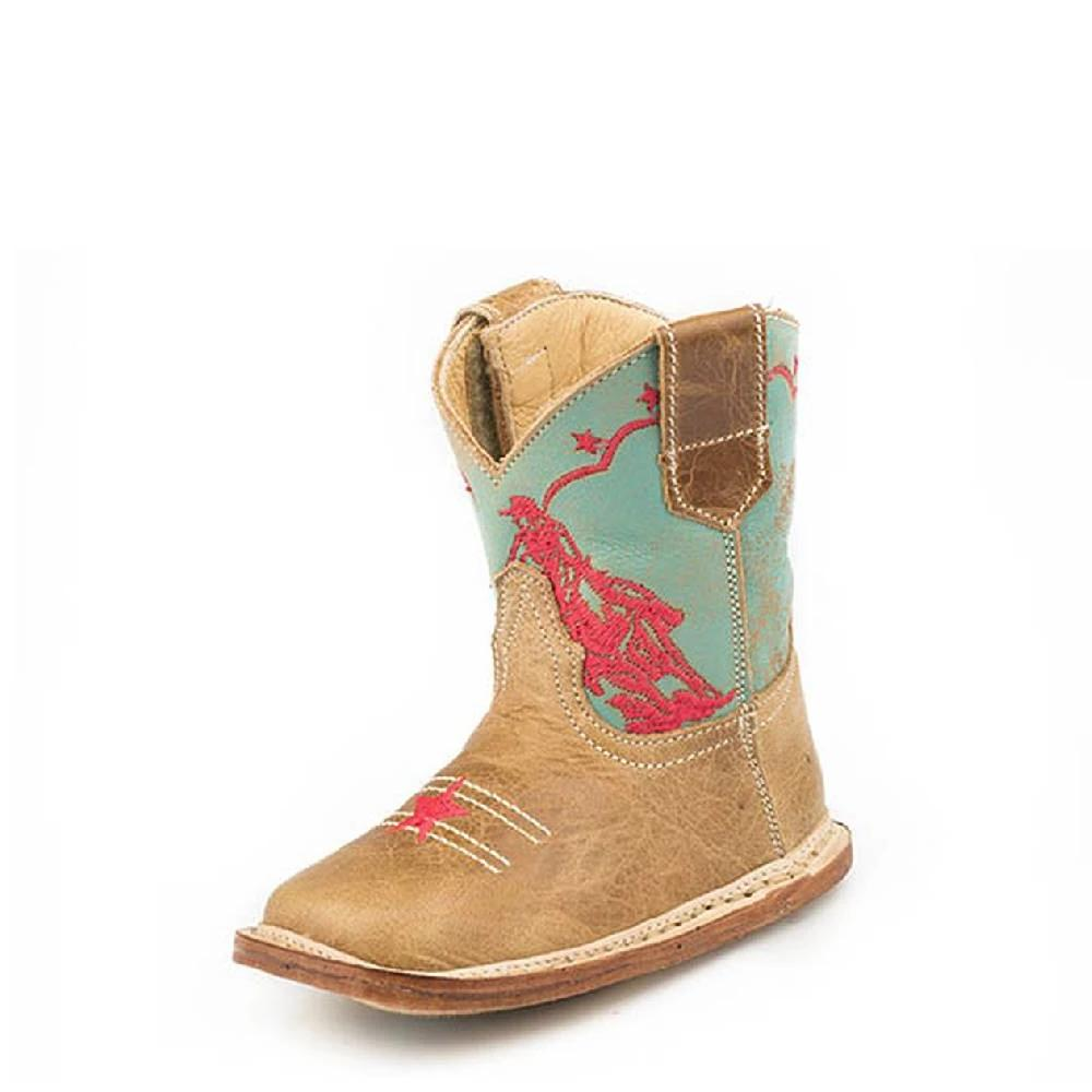 Roper Cowbabies Barrel Racer Boot